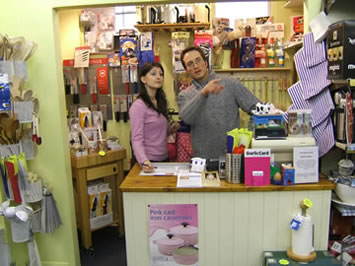 Experienced & friendly staff at The Kitchen Shop Weybridge