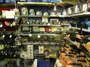 Just some of our selection of cookware